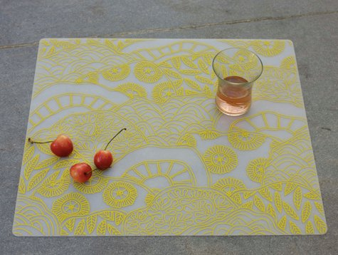 modern twist placemats + coasters. i was very excited to see this post on